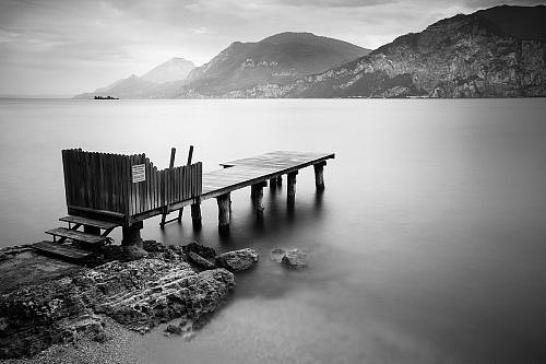 Lago di Garda - Long Exposure