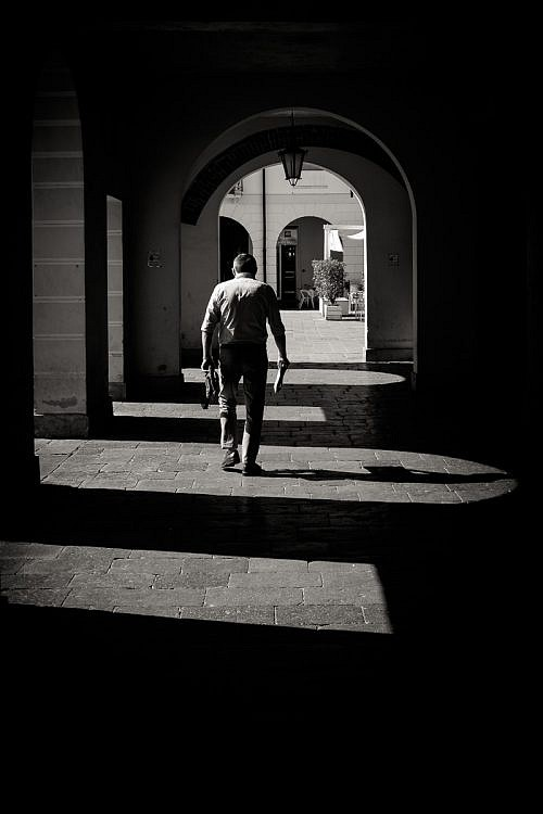 Street photography on Cittadella